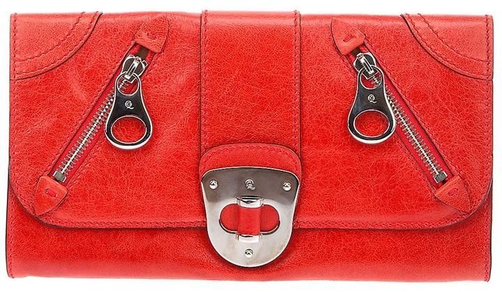 Alexander McQueen Wristlet clutch bag