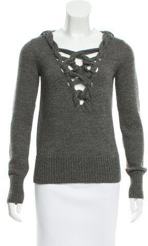 GucciGucci Knit V-Neck Sweater
