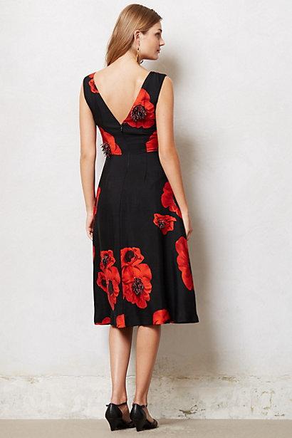 Anthropologie Fumaria Tassel Dress