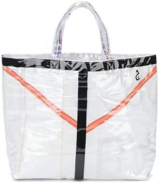 Comme des Garcons PVC coated tote bag