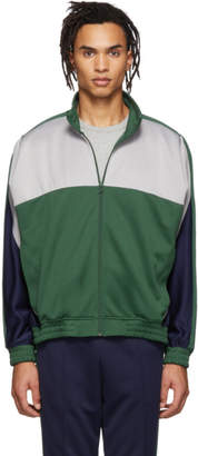 Nike Green and Grey Martine Rose Edition NRG Track Jacket