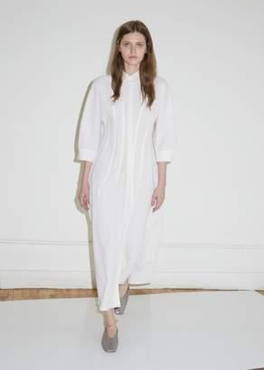 Jil Sander Garden Wool and Silk Dress