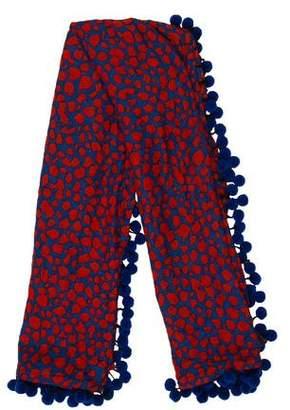 Diane von Furstenberg New Rochelle Wool-Blend Scarf w/ Tags