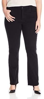 NYDJ Women's Plus-Size Billie Mini Bootcut Jean in