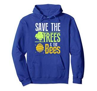Save the Trees and the Bees Global Warming Hoodie