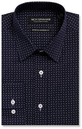 Nick Graham GRAHAM AND CO Everything Fitted Long Sleeve Dress Shirt