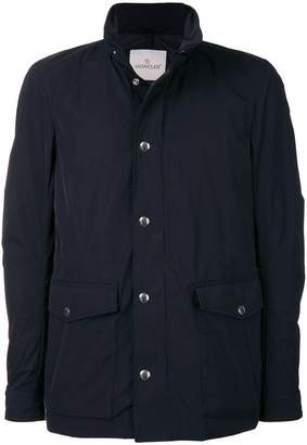 Moncler classic zipped jacket