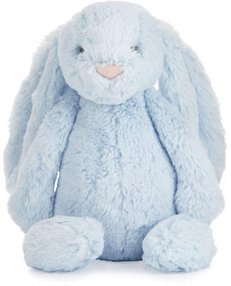 Jellycat Plush Bashful Bunny Chime Stuffed Animal, Blue $25 thestylecure.com