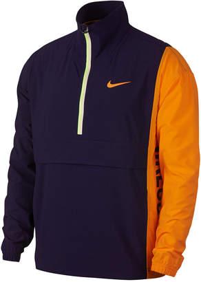 Nike Men's Court Repel Colorblocked Half-Zip Jacket