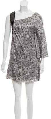 Jay Godfrey Sequin Embellished Mini Dress