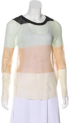 A.L.C. Colorblock Knit Sweater