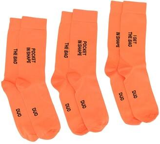 Natasha Zinko DUO 3 pairs of socks