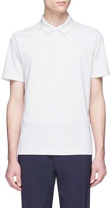 Theory Pima cotton blend polo shirt