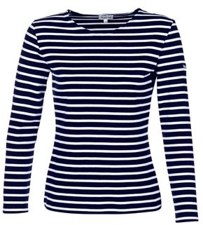 Armor Lux MOUSSA women's Long Sleeve T-shirt in Blue