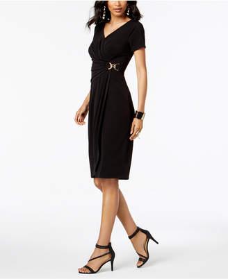 Thalia Sodi Embellished Wrap Dress, Created for Macy's
