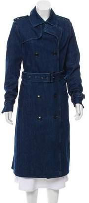 Closed Denim Trench Coat