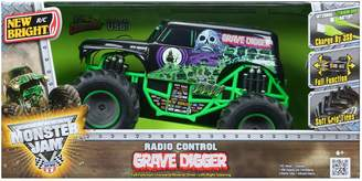 New Bright Remote Control 6.4V Grave Digger Truck