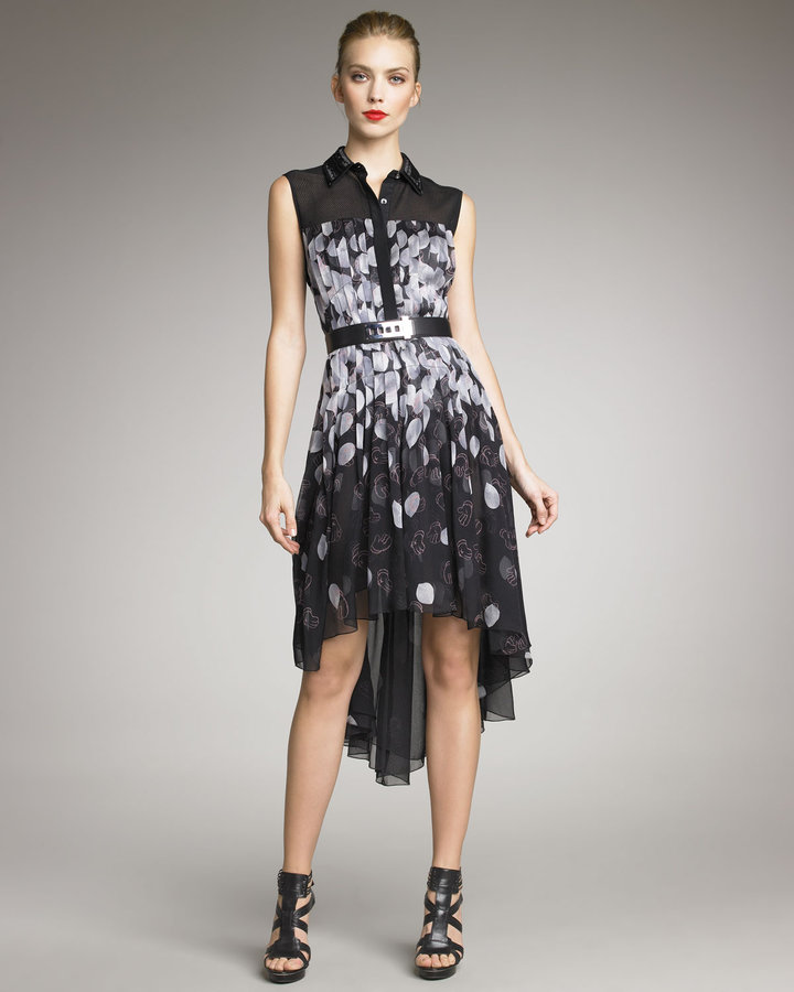 Jason Wu Petal-Print Shirtdress