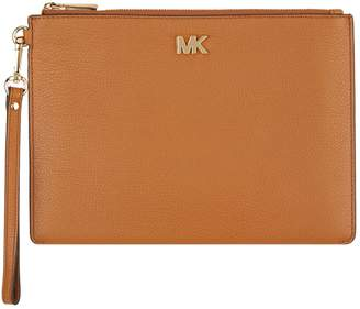 MICHAEL Michael Kors Pebbled Leather Clutch Bag