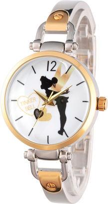 DISNEY Disney Tinker Bell Womens Two Tone Bracelet Watch-Wds000065 $60 thestylecure.com