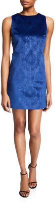 Alice + Olivia Clyde Short Brocade Cocktail Shift Dress