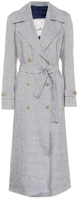 Giuliva Heritage Collection The Christine linen trench coat