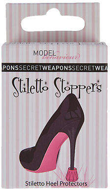 NEW Secret Weapons Womens Heels Stiletto Stoppers