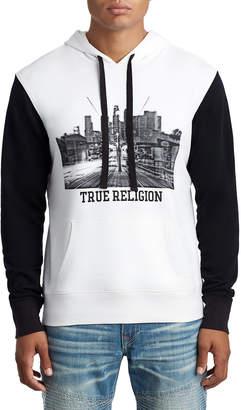 True Religion MENS CITY PULLOVER HOODIE
