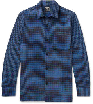 Todd Snyder Houndstooth Cotton-Blend Chenille Overshirt