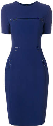 Thierry Mugler fitted waist dress