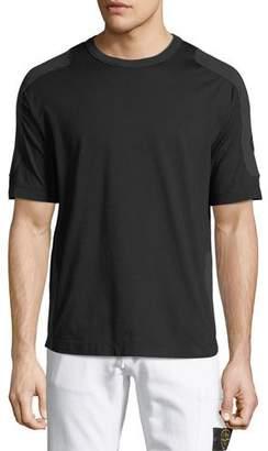 Stone Island Men's Tonal-Trim Jersey T-Shirt