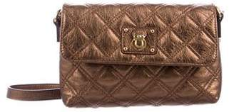 Marc Jacobs Metallic Quilted Crossbody Bag