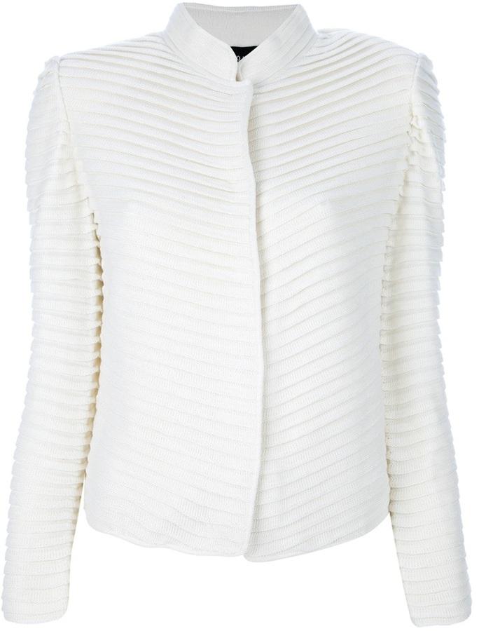 Giorgio Armani short pleated jacket
