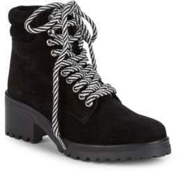 Steve Madden Glacie Block Heel Suede Active Boots