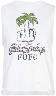 Local Authority cropped tank top