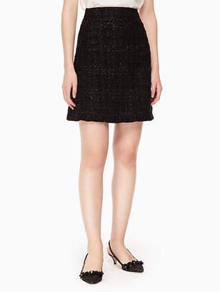 Kate Spade Sparkle tweed skirt