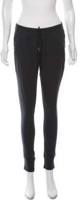 Anine Bing Knit Mid-Rise Joggers