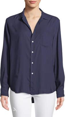 Frank And Eileen Eileen Long-Sleeve Button-Front Modal Pocket Shirt