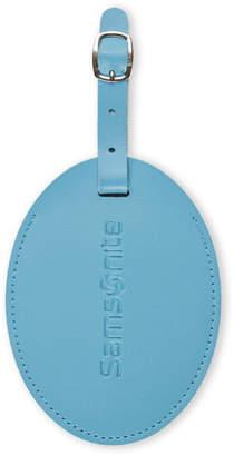 Samsonite Blue Large Vinyl ID Tag