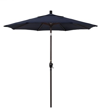 California Umbrella 7.5-ft. Pacific Trail Bronze Finish Sunbrella Patio Umbrella