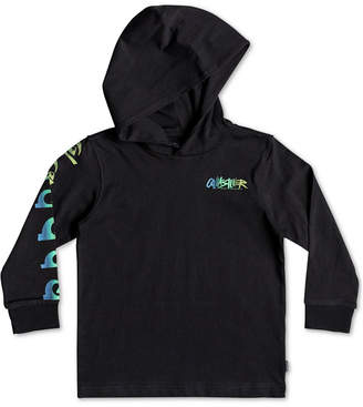 Quiksilver Toddler Boys Graphic-Print Cotton Hooded T-Shirt