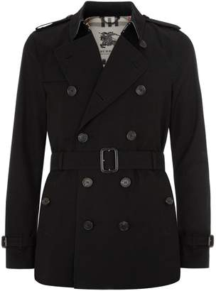 Burberry Kensington Short Heritage Trench Coat