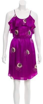 Rebecca Taylor Floral Mini Dress
