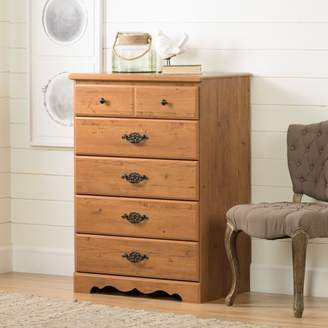 South Shore Furniture South Shore Prairie 5-Drawer Dresser, Country Pine