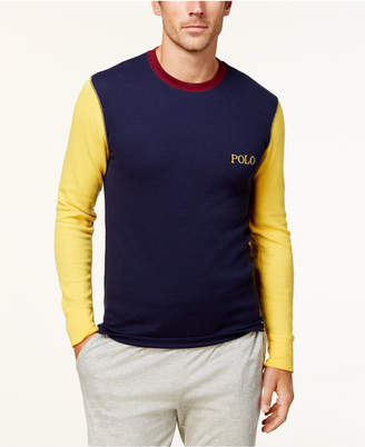 Polo Ralph Lauren Men's Waffle-Knit Thermal Shirt