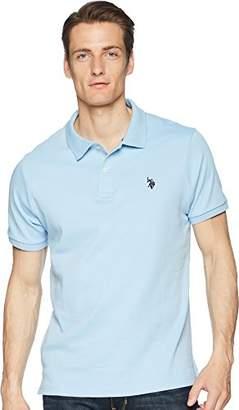 U.S. Polo Assn. Men's Classic Fit Solid Short Sleeve Interlock Polo Shirt