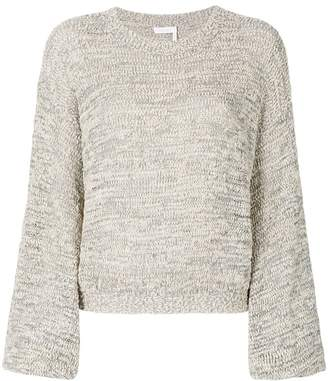 See by Chloe cropped knit jumper