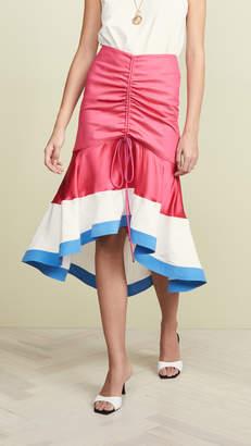 Prabal Gurung Binod High Low Skirt