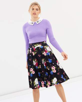 Review Mi Amore Floral Skirt