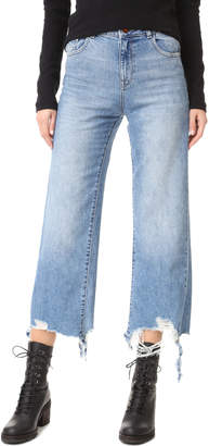 DL1961 Hepburn High Rise Wide Leg Jean $198 thestylecure.com